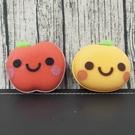 日本 小久保KOKUBO-可愛水果造型廚房用清潔海綿-橘子/蘋果