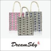 泰國大象手提袋 環保袋 黑藍 粉黑 棕色 DreamSky