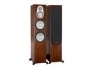 英國Monitor Audio 銀Silver 500 落地式喇叭/對 木紋版 新竹專賣店 名展音響