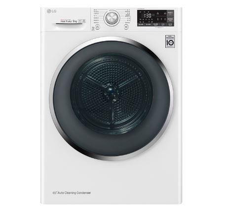 *~新家電錧~*【LG樂金 WR-90TW 】LG 免曬衣乾衣機 / 冰磁白 〈不含安裝〉