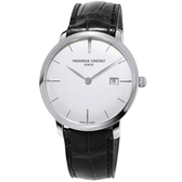 康斯登 CONSTANT SLIMLINE超薄系列簡約腕錶         FC-306S4S6