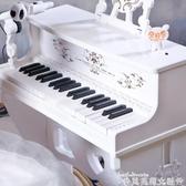 電子琴兒童鋼琴電子琴初學者帶話筒寶寶女男孩玩具生日周歲禮物1-3歲 貝芙莉LX