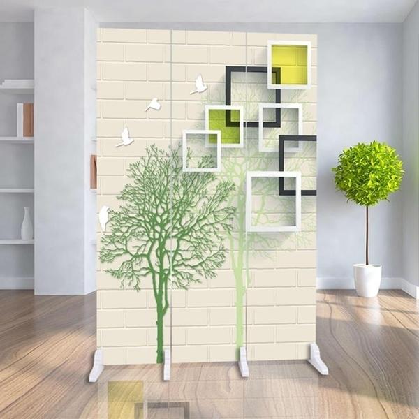 屏風 歐式折疊屏風隔斷時尚酒店辦公室小戶型移動臥室客廳現代簡約折屏