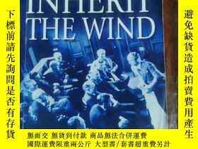 二手書博民逛書店INHERIT罕見THE WIND jerome Lawrence and Robert E. Lee 英文版