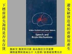 二手書博民逛書店Speech罕見And Brain MechanismsY256260 Penfield Wilder Pri