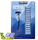 [COSCO代購] W2121990 Kirkland Signature 科克蘭 刮鬍刀組 P240