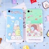 日本卡通角落生物手機殼蘋果iphoneX蘋果8plus硅膠可愛全包6s軟殼