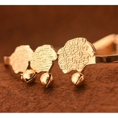 玫瑰金 純銀手環-三隻小綿羊可愛生日情人節禮物女飾品71ap74【巴黎精品】