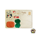 【收藏天地】印章明信片*吃吃熊貓 ∕  印章 擺飾 送禮 趣味 文具 創意 觀光 記念品