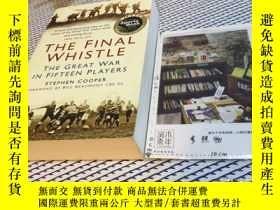 二手書博民逛書店英文原版罕見THE FINAL WHISTLE 最後的哨聲 TH