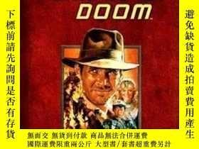 二手書博民逛書店Indiana罕見Jones and the Temple of Doom印地安納瓊斯:魔域奇兵,英文原版Y4