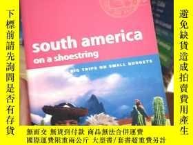 二手書博民逛書店lonelyplanet孤獨星球south罕見America南美