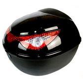 機車後尾箱-雙層防水鷹眼造型反光警示摩托車置物箱用品5色73q4[時尚巴黎]