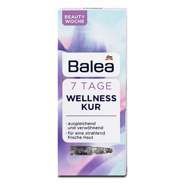 德國BALEA 密集修復護理安瓶-紫色1MLX7【德潮購】