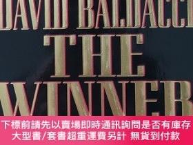 二手書博民逛書店英文原版書罕見The Winner Mass Market David Baldacci (Author)Y3