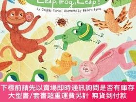 二手書博民逛書店罕見原版  青蛙 英文原版 Leap Frog Leap! 紙板書 睡前Y454646 Douglas Lit