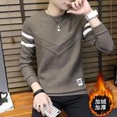 長袖T恤男 男士長袖t恤2019年新款秋季上衣服套裝秋衣潮流衛衣體恤打底衫潮 雙12
