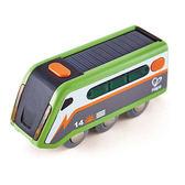 【德國Hape愛傑卡】軌道系列-太陽能火車