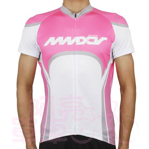 *阿亮單車*Bikeskin Deep Power 自行車短袖透氣車衣,適用休閒騎乘,桃紅色《C00-013-T》