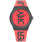 Superdry極度乾燥 震撼潮流運動腕錶-SYL189CE