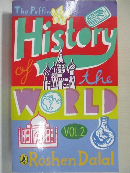 【書寶二手書T7/歷史_GRC】The Puffin History of the World: Volume 2 Kindle Edition_Roshen Dalal