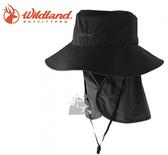 丹大戶外【Wildand】荒野 中性抗UV多功能遮陽帽 W1037-96 深霧灰