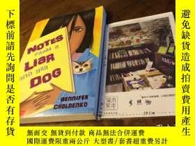 二手書博民逛書店英文原版罕見notes from a liar and her
