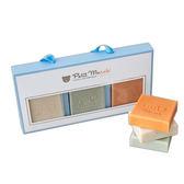 彌月禮盒  三月小熊 Petit March 寶寶手工皂禮盒3入組y7057