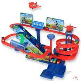 拖馬斯小火車軌道套裝多層電動爬樓梯軌道車兒童玩具男孩23456歲XW 萊爾富免運