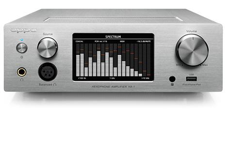 《福利品特賣》OPPO HA-1 兼容蘋果設備 Hi-Fi級耳機擴音機與前級擴音機 銀色款