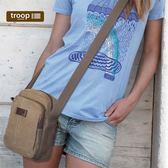 【TROOP】傳統簡約HERITAGE單肩包/TRP0375BN(棕色)