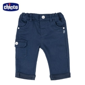 chicco-To Be Baby-彈性長褲-青