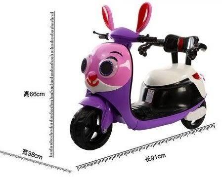 *粉粉寶貝玩具*最新款~朱迪兔兒童電動車~超酷~有椅背/靠背款~組裝出貨賣場 生日禮物