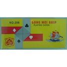 龍美 206撲克牌-30打/箱