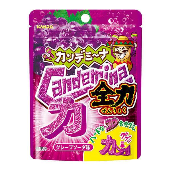甘樂全力造型軟糖葡萄汽水 【康是美】