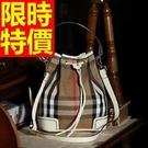 水桶包新品優雅-明星同款質感側背肩背女包包7色58o7【巴黎精品】