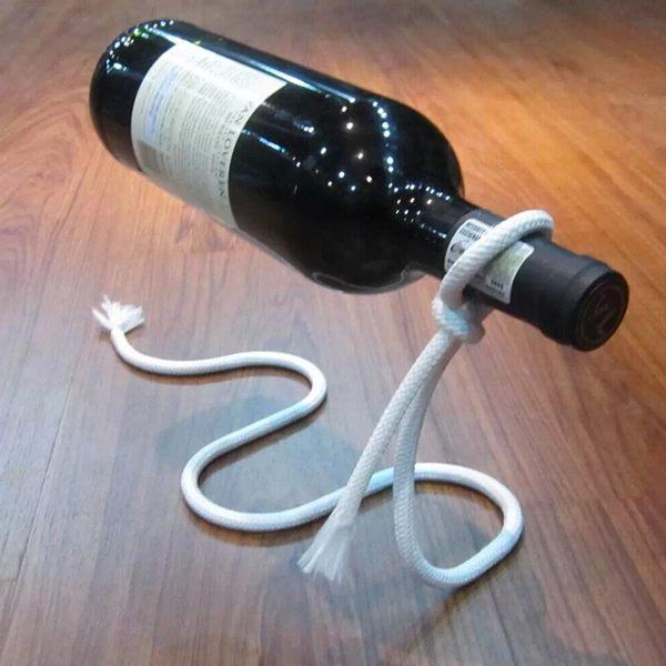 魔術繩創意紅酒架 時尚個性