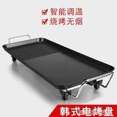 燒烤爐家用電烤爐室內自助無煙燒烤架5人3人以上電烤盤烤肉機紙上
