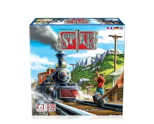 [KANGA GAMES] 鐵道之王 Spike #R&R Games  家庭策略桌上遊戲