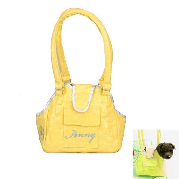 新款寵物泰迪小狗奶狗手提包包外出便攜背包吉茶杯犬小型犬包包時尚芭莎鞋櫃WD