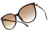 FENDI太陽眼鏡 FF0310FS 0T7JL (紫-淺黃漸層棕鏡片)  低調貴氣貓眼款 # 金橘眼鏡