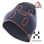 【瑞典Haglofs】FANATIC PRINT CAP 輕量 透氣刷毛帽『午夜藍』894030 保暖帽│造型帽│毛帽 Polartec®