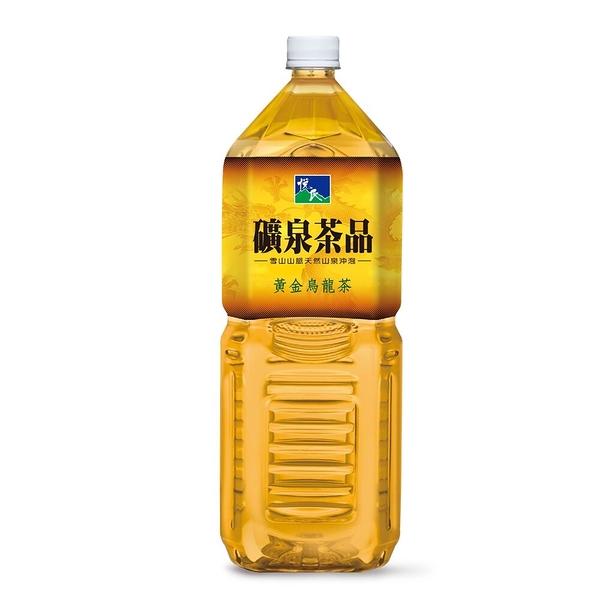 悅氏黃金烏龍茶2000ml