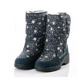 [Polar Star] (女) 雪花保暖雪鞋 深藍 (P18632-506)