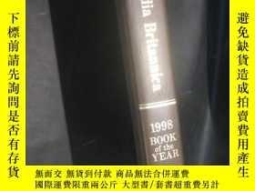 二手書博民逛書店encyclopaedia罕見britannica--1998