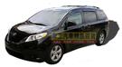 【車王小舖】豐田 Toyota SIENNA晴雨窗 SIENNA卡扣式晴雨窗 SIENNA鍍鉻邊晴雨窗 一組四片