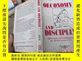 二手書博民逛書店oeconomy罕見and discipline officer