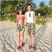 男士休閒寬鬆情侶沙灘速乾度假泳褲潮PLL3215【男人與流行】