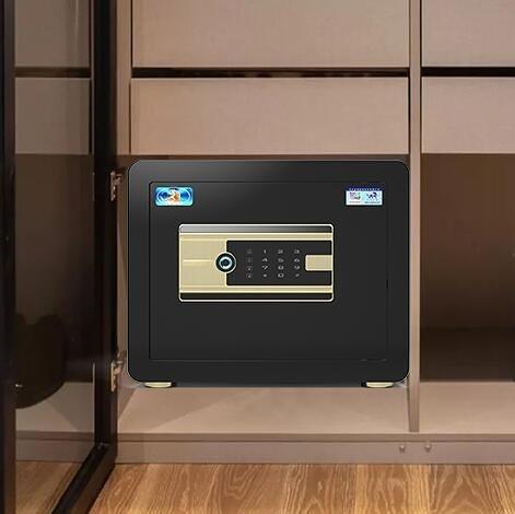 保險櫃 家用小型保險箱全鋼防盜可隱藏入墻固定床頭柜夾萬箱學生宿舍樓 莎瓦迪卡