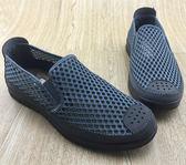 老北京布鞋男鞋上班防滑夏季網面開車軟底透氣工作一腳蹬懶人網鞋-ifashion